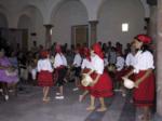 Alumnas de Danza en la Audición final curso 01/02